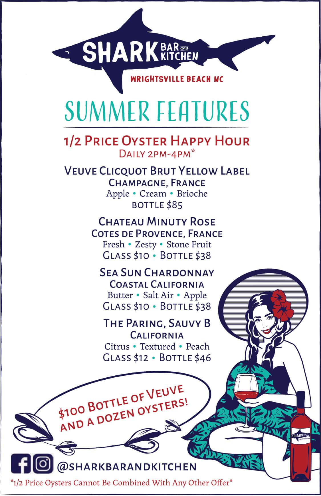 Shark Bar Summer Features