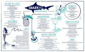 Shark Bar Drink Summer Menu